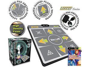 DDR Multi-Platform Super Sensors Energy Non-slip Dance Pad (PS, PS2, XBox, PC, Mac) with DDR Game Ultramix 2 (XBOX)