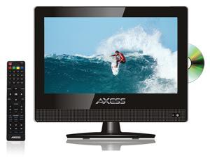 Axess 15.6-Inch LED HDTV, Includes AC/DC TV, DVD Player, HDMI/SD/USB Inputs, TVD1805-15