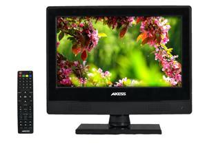 "AXESS TVD1805-13 13.3""  LED HDTV Built-in DVD Player, 12V Car Cord, VGA/HDMI/SD/USB Inputs and Full Function Remote"