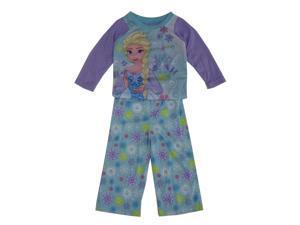 40b3e8de35 Disney Little Girls Blue Purple Frozen Elsa ...