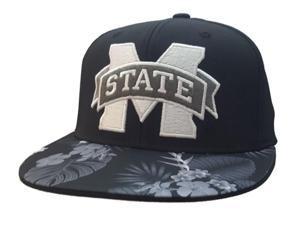 77e7c4336ee Mississippi State Bulldogs Adidas FitMax 70 Hawaiian Flat Bill Hat ...
