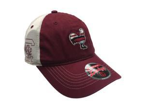 15deba794f5 South Carolina Gamecocks Zephyr Garnet Rooster Silhouette Mesh Snapback Hat  Cap