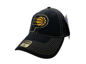 2c6a1d0342da0 Indiana Pacers Adidas SuperFlex Navy Relaxed Style Fitted Baseball Hat ...