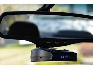 Whistler CR93 Bilingual Laser Radar Detector with Blue OLED Text Display, Black