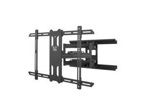 Kanto PDX650 Full Motion Mount for 37-inch to 75-inch TVs - Black