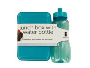 123-Wholesale: Set of 24 Lunch Box with Water Bottle (Kitchen & Dining, Portable Food & Beverage)