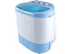 PYLE HOME PUCWM22 Compact & Portable Washer & Dryer, Mini Washing Machine and Spin Dryer