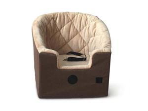 K&H Pet Products KH7621 Bucket Booster Pet Seat Small Tan 20 in. x 15 in. x 20 in.