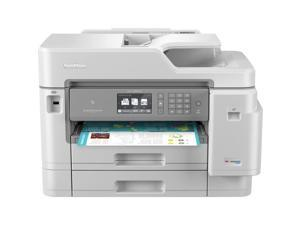 Brother MFC-J5945DW INKvestment Tank Wireless Duplex All-in-One Color Inkjet Printer with NFC and Up to 1-Year of Ink in-Box