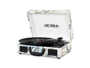INNOVATIVE TECHNOLOGY INN-VSC-550BT-P4 BLUETOOTH SUITCASE TURNTABLE IN MAP PRIN