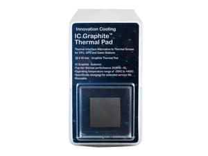 Innovation Cooling Graphite Thermal Pad – Alternative To Thermal Paste/Grease (40 X 40mm)