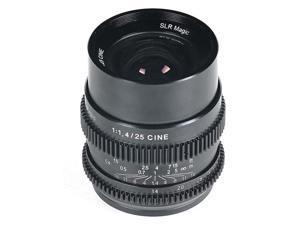 SLR Magic 25mm f/1.4 Hyperprime Full Frame Cine Lens (Sony E Mount) #SLR-2514FE