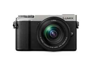 Panasonic Lumix DMC-GX9 Mirrorless Camera with 12-60mm Lens, Silver #DC-GX9MS