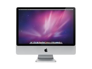 "Apple iMac A1225 MB418LL/A CORE 2 DUO@2.66 GHz(E2019), 24"" SCREEN, 640GB HDD, 5GB RAM,10.9.5 OS"