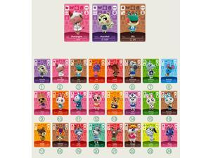 Animal Crossing - New 24Pcs Full Set NFC PVC TAG Mini Cards for Nintendo Switch AMIIBO  WII U