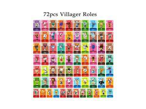 Animal Crossing - New 72Pcs Full Set NFC PVC TAG Mini Cards for Switch AMIIBO  WII U
