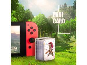 22PCs Mini PVC NFC Tag Card The Legend of Zelda: Breath of the Wild For Switch/NS with Crystal Box