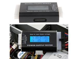 New Digital LCD PC Computer Power Supply Tester 20/24 Pin 4 PSU ATX SATA HDD Testers