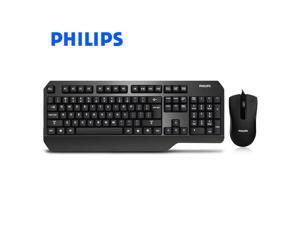 fbe589d066d Philips SPK6202A European Standard Big Palm Rest Ergonomic Design, Brown  Mechanical Feeling Cool Exterior Waterproof