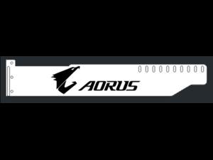 Corn Electronics Universal 11 Colors Remote Control LED Acrylic GPU Brace 11''   -  AORUS