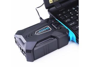 Cool Cold Vacuum Portable Notebook Laptop Cooler USB Air External Extracting Cooling Fan for Laptop Speed Adjustable for 15 15.6 17 Inch