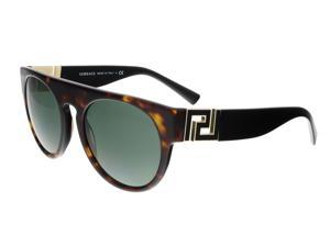adf6645fdd Versace VE4333 108 71 Havana Round Greca Sunglasses