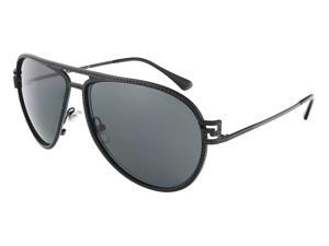 aeb848981a Versace VE2171B 125687 62 Matte Black Aviator sunglasses