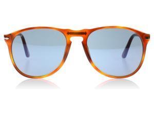 b19136e3da8 New PERSOL Sunglasses PO 9649 96 56 Authentic Havana ...