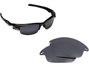 ba565324c26 Fast Jacket Asian Fit Replacement Lenses Black Iridium by SEEK fits OAKLEY