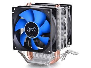 DEEPCOOL CPU Cooler 2pcs 8025 Fan Double Heatpipe Radiator for Intel LGA 775/115x, AMD 754/940/AM2+/AM3/FM1/FM2(UPDATED VERSION)
