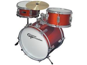 Groove Percussion JR100 3 Piece Children's Drum Set