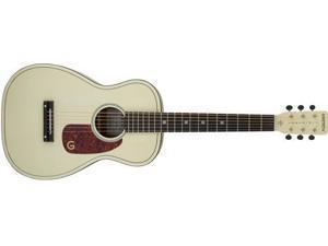 "Gretsch G9500 Jim Dandy 24"" Scale Flat Top Acoustic Guitar (Vintage White)"