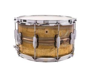 "Ludwig Raw Brass Phonic 8"" X 14"" Snare Drum"