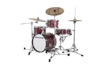 Ludwig Breakbeats by Questlove 4-Piece Shell Pack - Wine Red Sparkle
