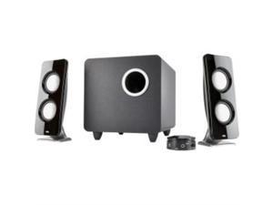 Cyber Acoustics CA-2012 2.0 Speaker System 4 W RMS Black CA2012RB