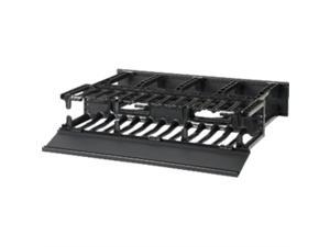 "Panduit NM2 Horizontal Cable Manager - Cable Manager - 2U Rack Height - 19"" Panel Width CAPACITY FRONT & REAR 2 RU - NM2"