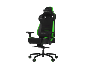 Vertagear Racing Series P-Line PL4500 Ergonomic Racing Style Gaming Office Chair - Black/Green