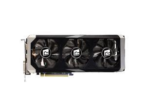 PowerColor PCS+ AMD Radeon R9 390 8GB GDDR5 2DVI/HDMI/DisplayPort PCI-Express Video Graphics Card