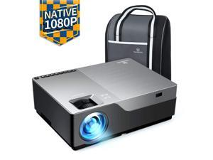 """VANKYO Performance V600 Native 1080P LED Projector, 4000 Lux Dual HDMI Projector with 300"""" Display Widescreen for Education & Business Presentation in Power Point"""