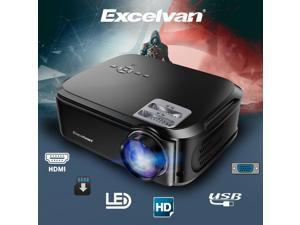 7000Lumens HD 1080P Projector Projector Video Home Theater Multimedia HDMI 200""