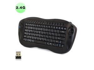 5586e5cd58c Vibob Wireless Keyboard with Trackball and USB Receiver - Qwerty, ...