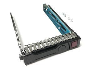 "New 2.5/"" Inch SATA SFF//SAS TRAY//CADDY FOR HP ProLiant DL385P G8 Gen8 w//IC CHIP"