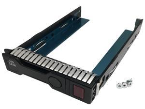 "Genuine HP 3.5"" SFF SAS & SATA Hard Drive Solid State Drive Smart Carrier Tray (651314-001) for HP Proliant Server"