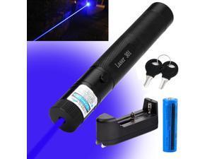 Military Blue Purple Laser Pointer 405nm Lazer Pen ...