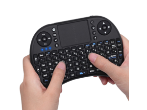 2.4Ghz Mini Wireless Keyboard with Touchpad for PC, XBox, PS3, Android TV