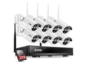 51bfbac09 ZOSI 8CH Security Wireless Cameras System