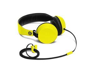 Nokia Coloud Boom Wired Inline Microphone & Control Flat Cable Headphone (Yellow)