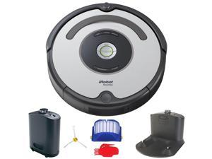 Robot Roomba 655 Pet Edition w/ Accessories (Silver)