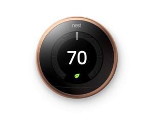 Nest Learning Thermostat 3rd Generation (WiFi) Copper T3021US
