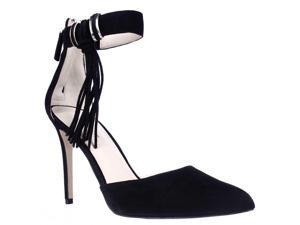 8afe47b237 Nine West Everafter Side Tassel D'Orsay Ankle Strap Dress Pumps, Black ...